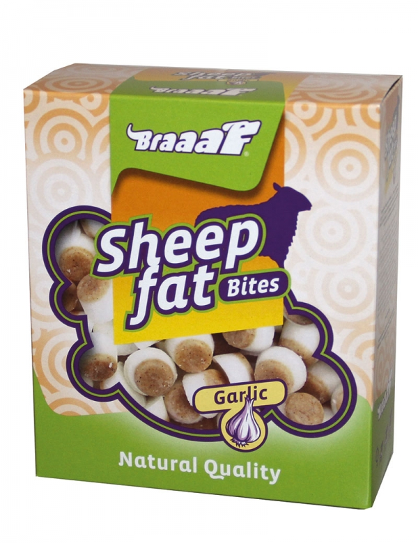 Braaaf Sheep Fat Garlic treats