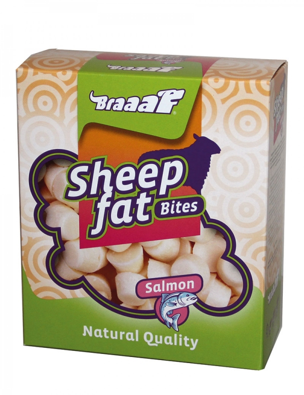 Braaaf Sheep Fat Salmon treats