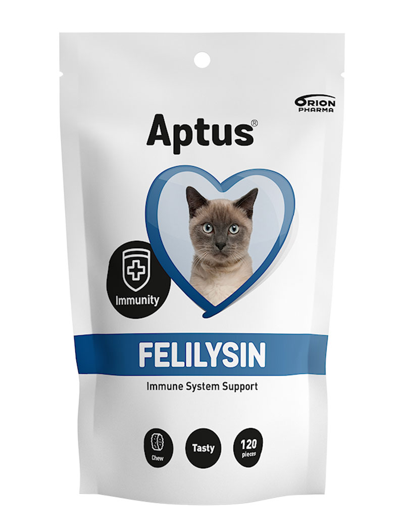 Aptus Felilysin Immune System Support för katt.