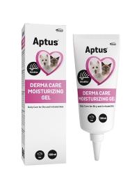 Aptus Derma Care Moisturizing Gel för irriterad hud hos katt och hund.