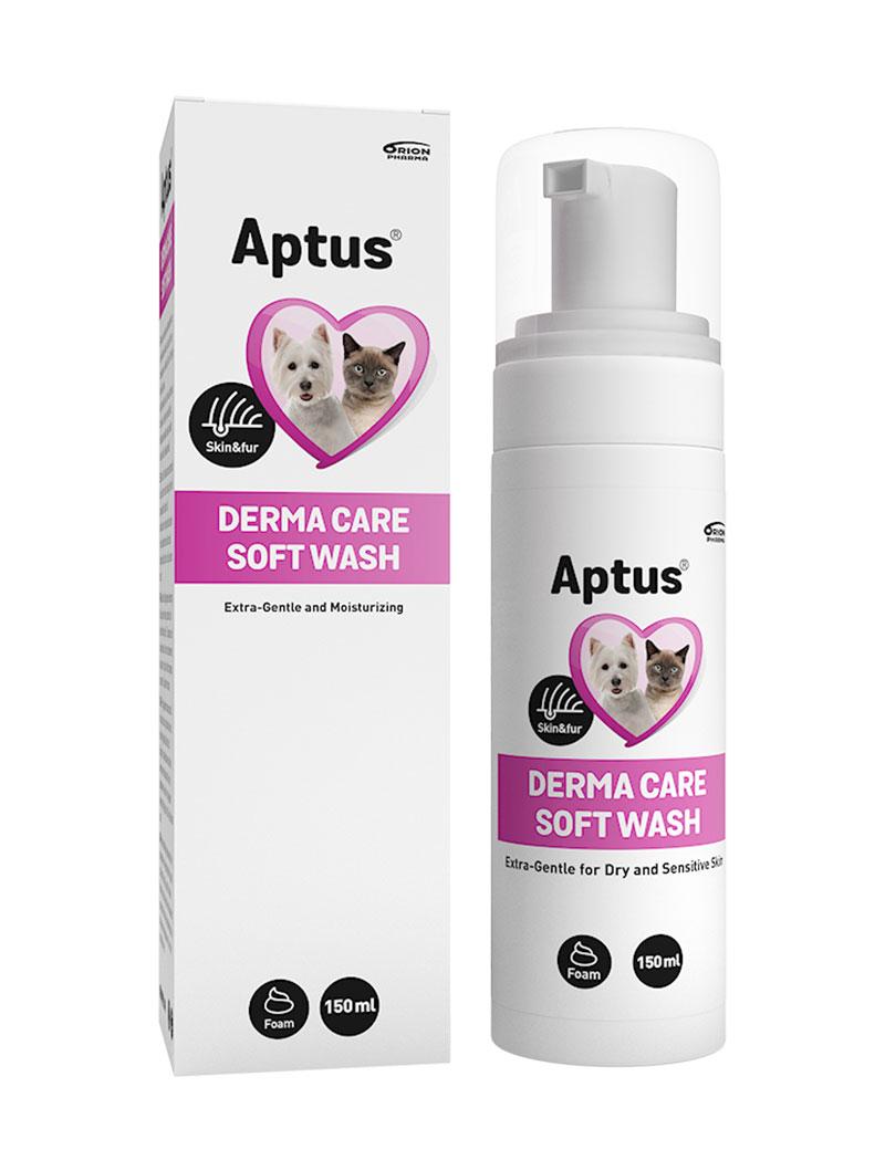 Aptus Derma Care Soft Wash för hund och katt.