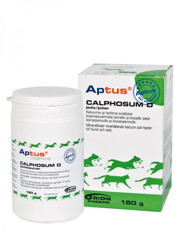 En vitaminburk för hund och katt från Aptus.