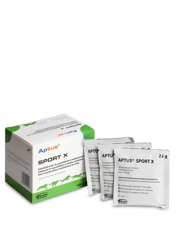 En förpackning Aptus Sport X.
