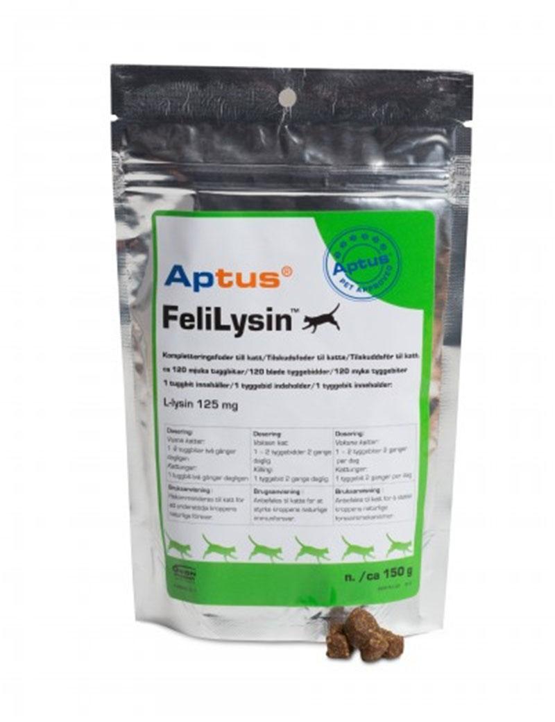 Aptus FeliLysin kompletteringsfoder till katt.