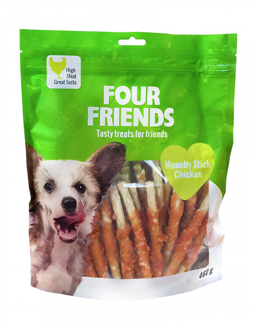 FoiurFriends Munchy Stick with Chicken 460 g Mald tuggpinne