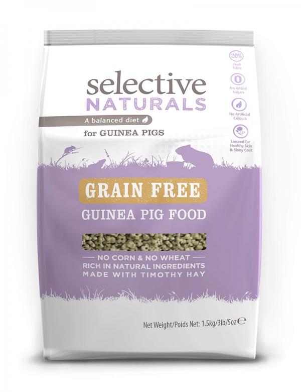 Selective Naturals Grain Free Guinea Pig 1,5 kg Marsvin