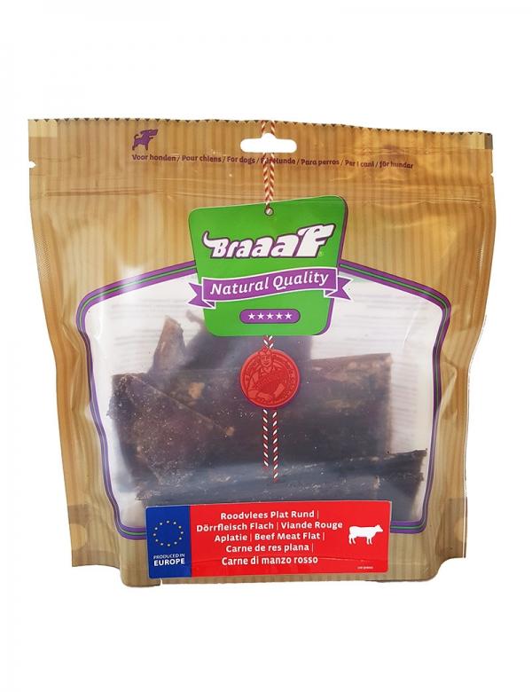 Braaaf beef meat flat 250 g