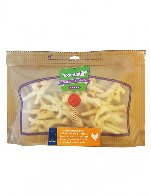 Braaaf Chicken Feet Honey 280 g