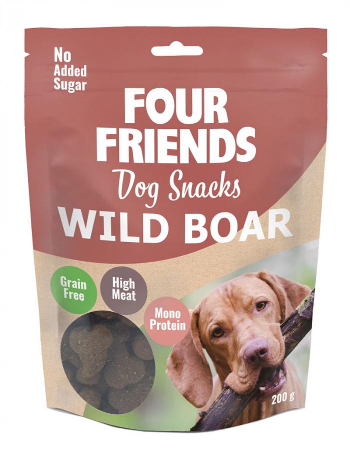 FourFriends hundgodis Dog Snacks Wild Boar