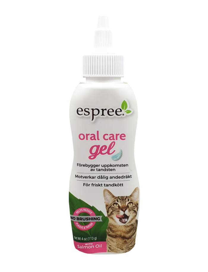 Espree Oral Care Gel Salmon Cat