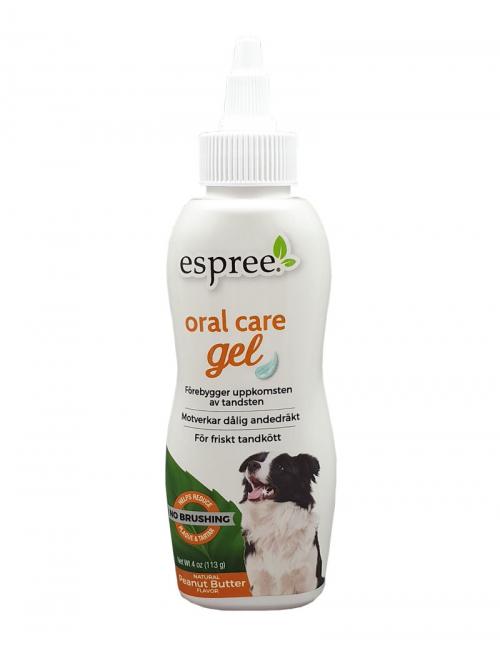 Espree Oral Care Gel peanut butter