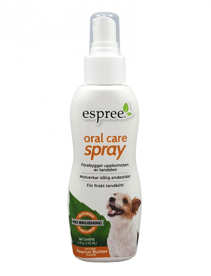 Espree Oral Care spray Peanut butter