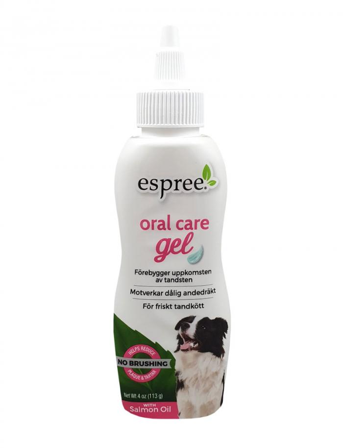 Espree Oral Care Gel med laxsmak