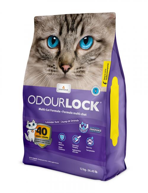 Odour Lock kattsand Lavender Field
