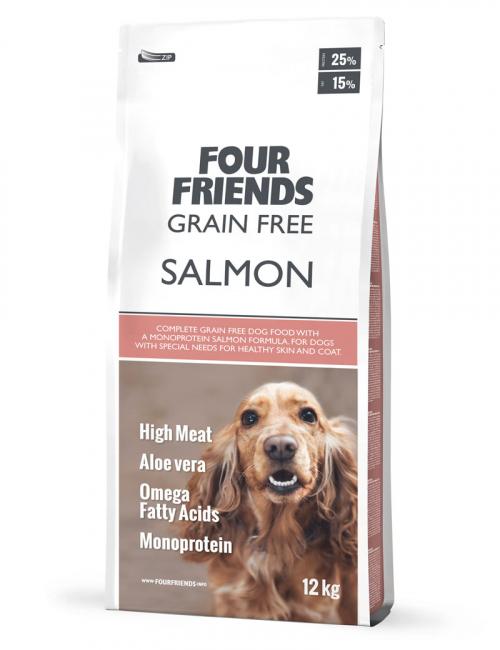 FourFriend Grain Free Salmon 12 kg