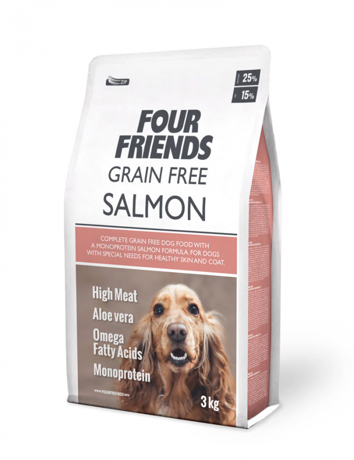 FourFriends Grain Free Salmon 3 kg