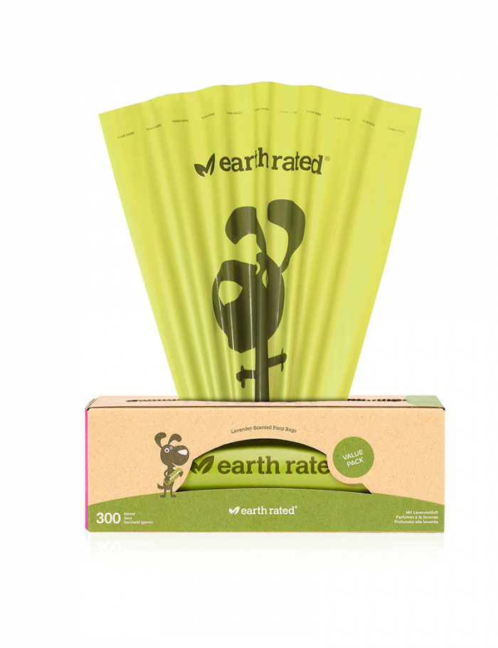 Earth Rated Single 300 påsar lavender