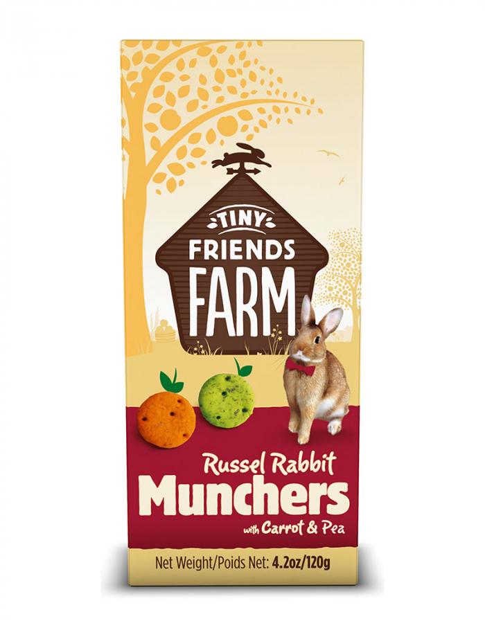 Supreme Russel Rabbit Munchers 120 g