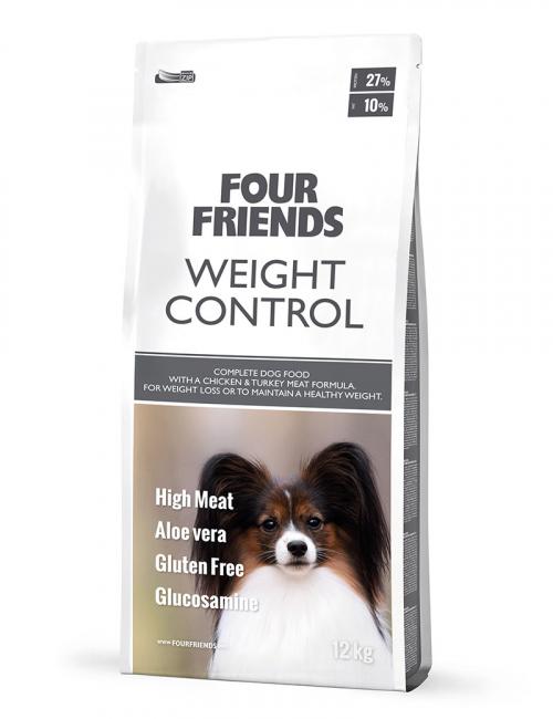 FourFriends hundmat Weight Control