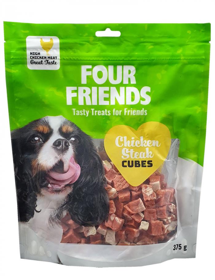 FourFriends Chicken Steak Cubes 375g