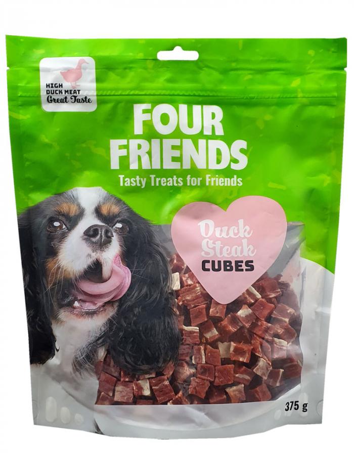 FourFriends Duck Steak Cubes 375g