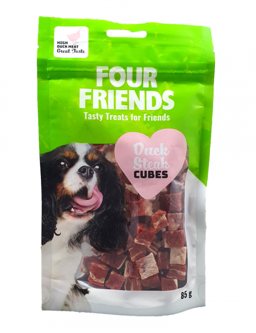 FourFriends Duck Steak Cubes 85g