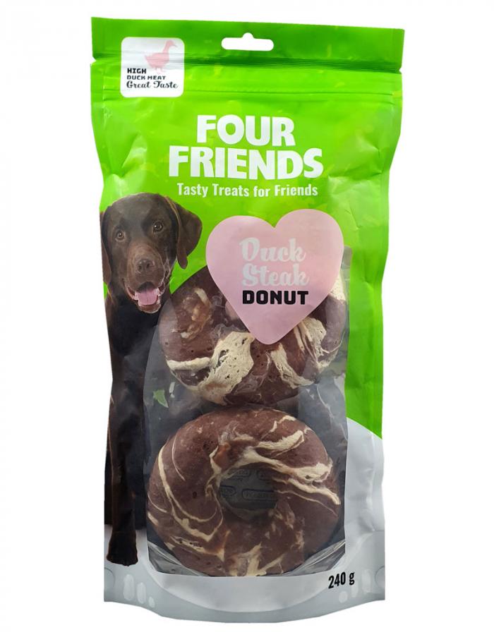 FourFriends Duck Steak Donut