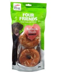 FourFriends Salmon Steak Donut 2-pack