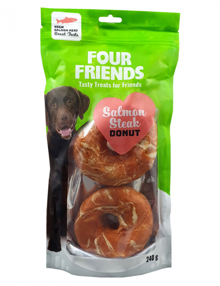 FourFriends Salmon Steak Donut 2-pack